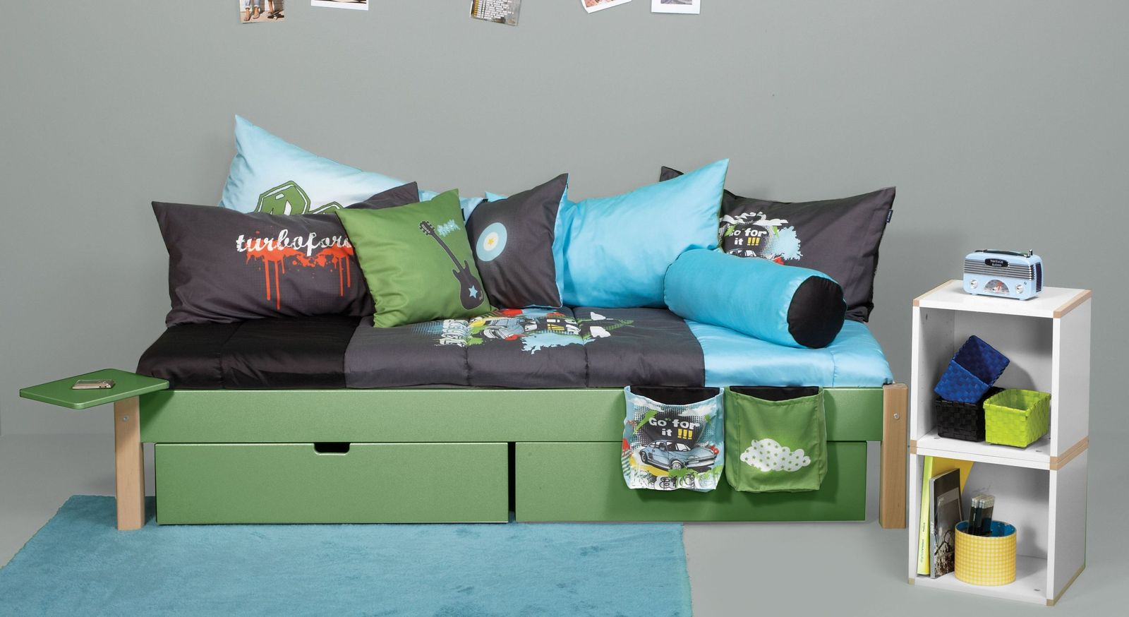 Passende Produkte zum Schubkastenbett Kids Town Color