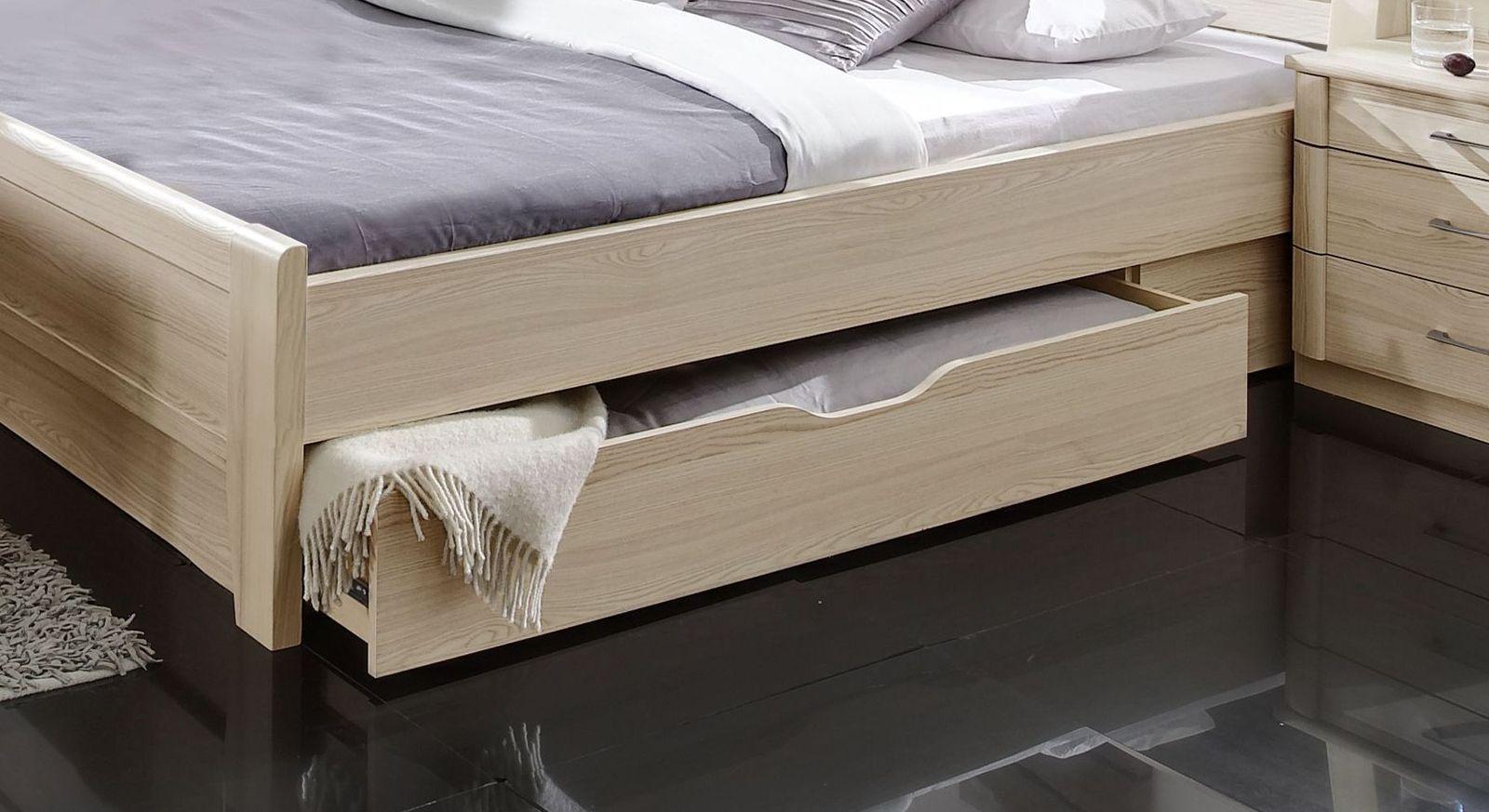 Schubkastenbett Rapino mit praktischer Bettschublade
