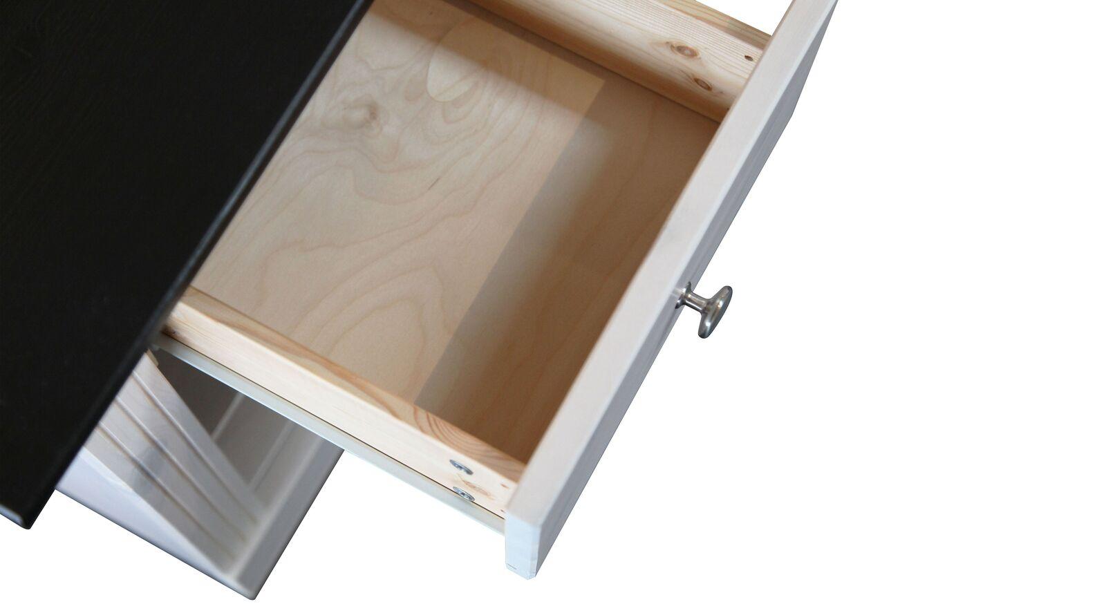Schublade der Serie Imala mit Knopfgriff