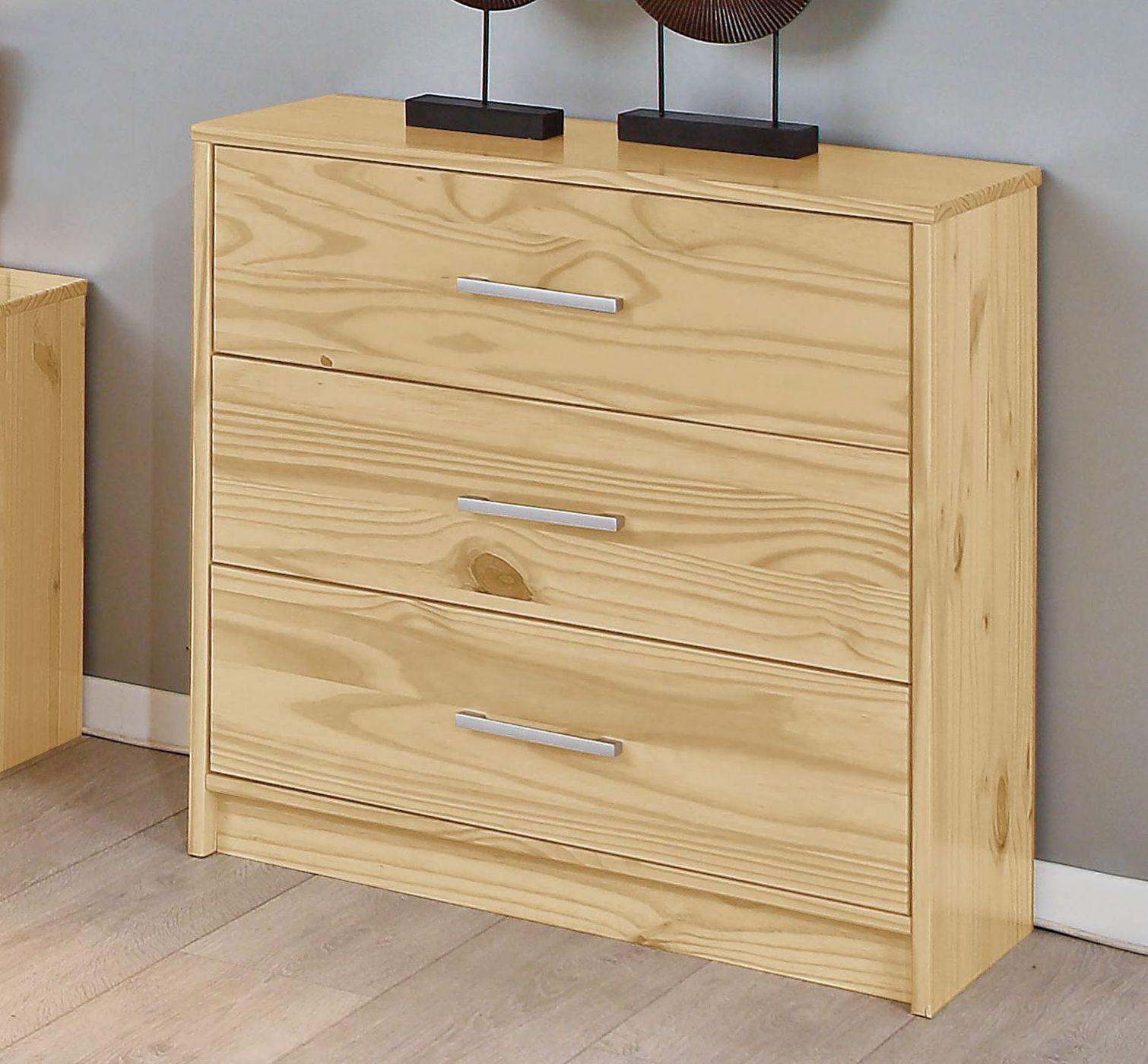 schubladen kommode kiefer natur preiswert pflegeleicht. Black Bedroom Furniture Sets. Home Design Ideas