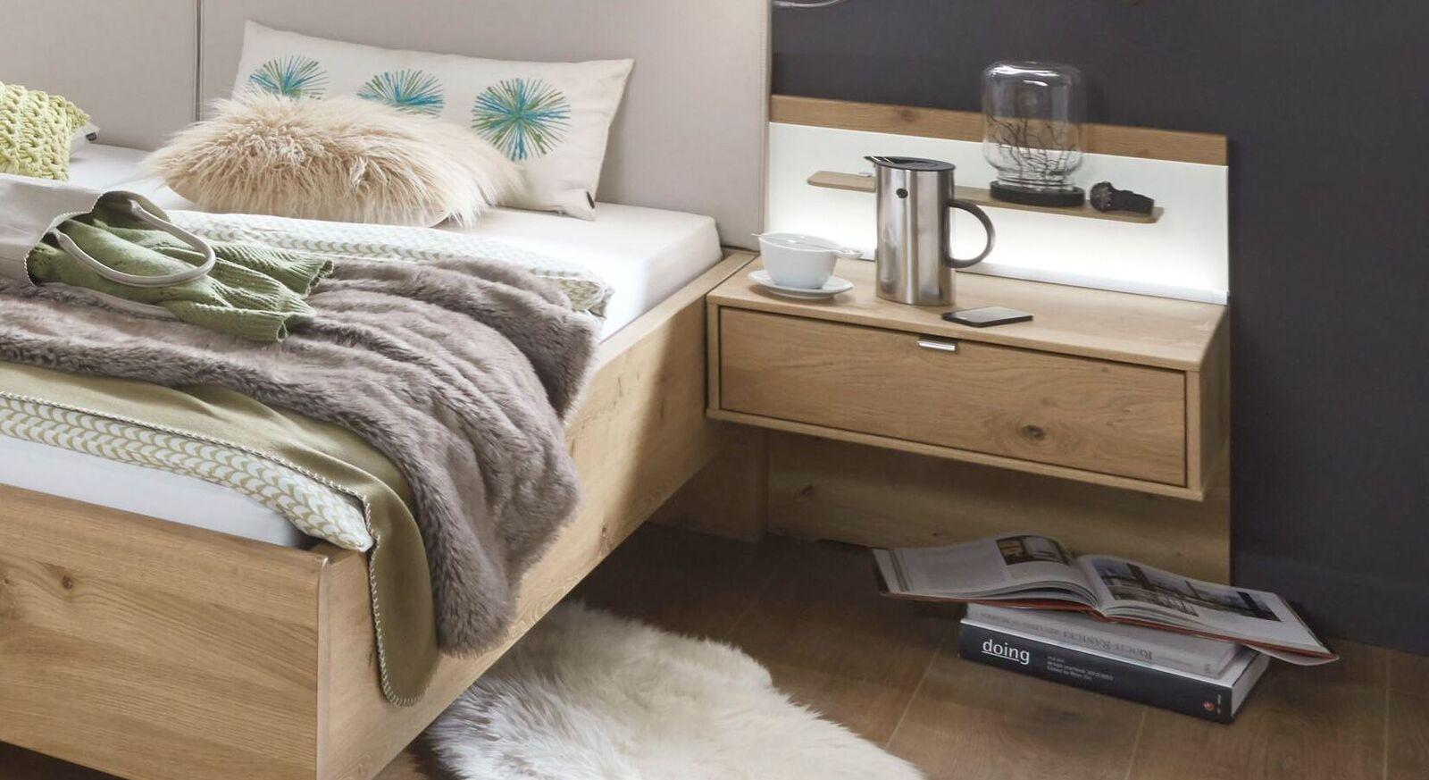 Schwebenachttisch Corato mit praktischer Schublade