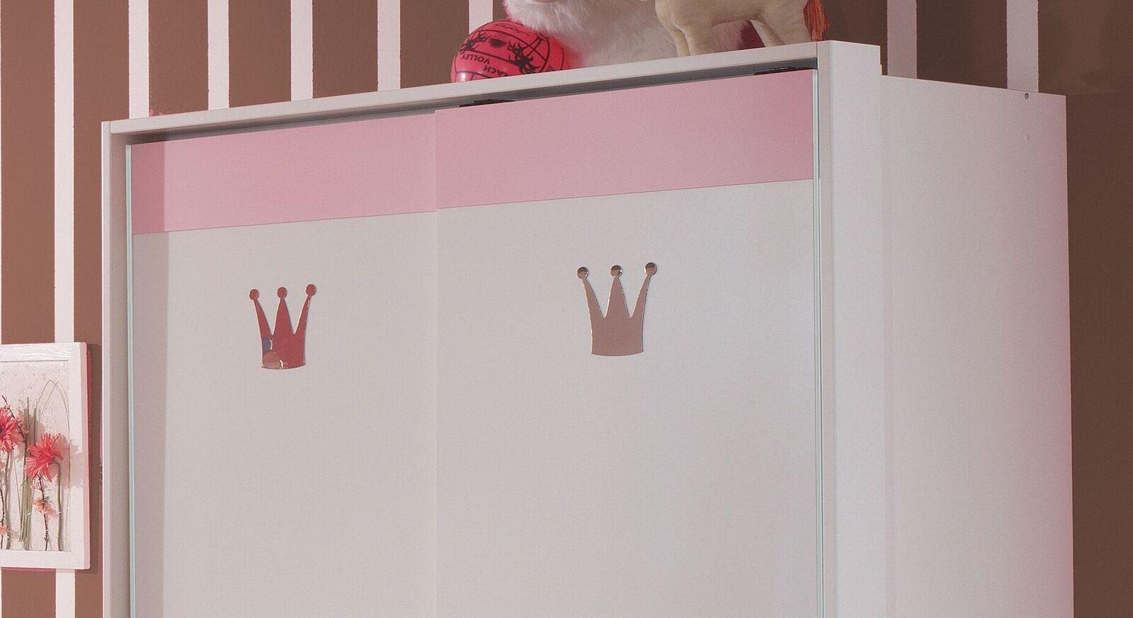 Schwebetüren-Kleiderschrank Embala inklusive Passepartout-Rahmen