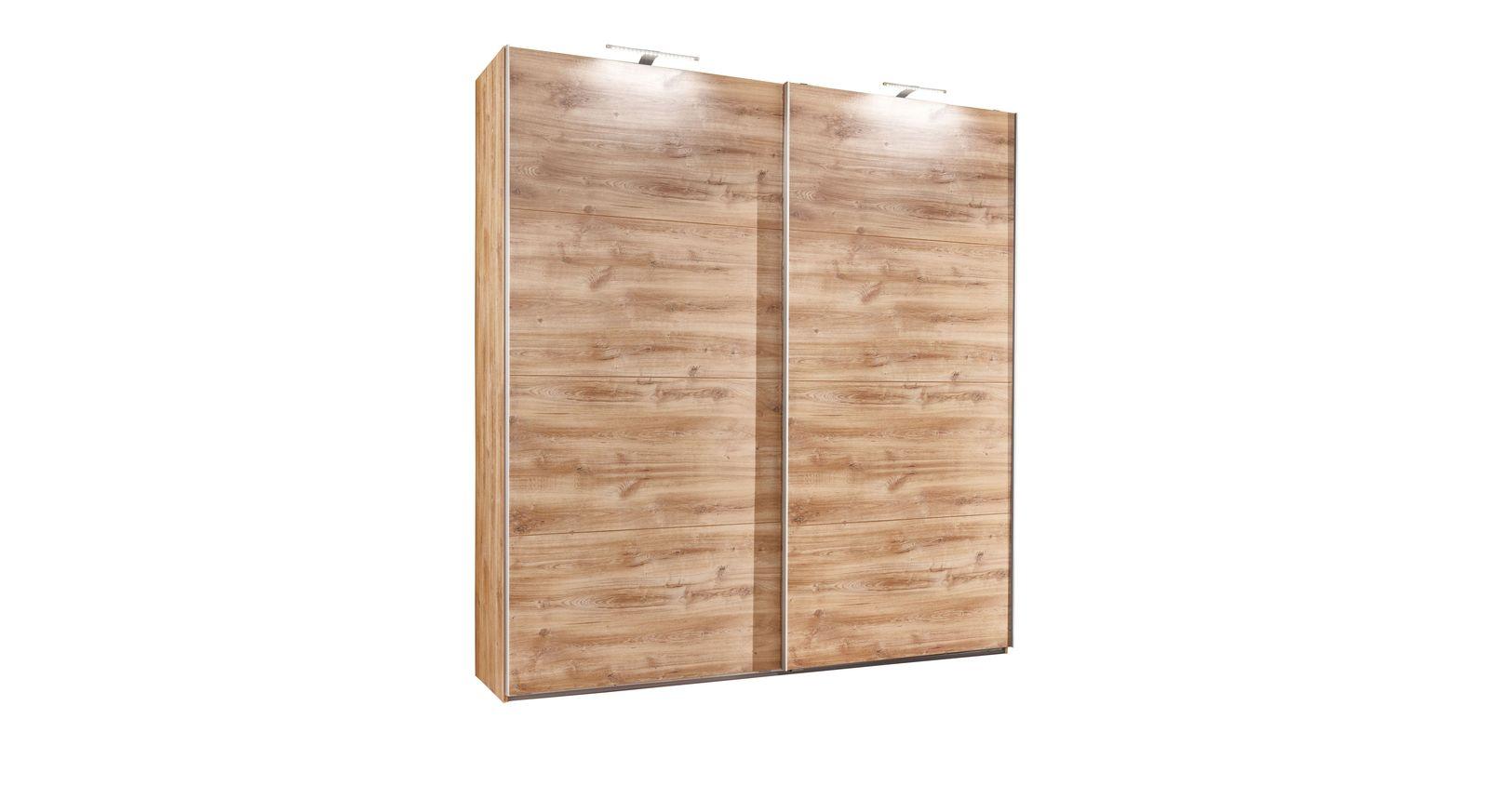 Schwebetüren-Kleiderschrank Loano in der schmalen Ausführung