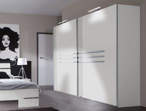 kleiderschrank mit schiebet ren g nstig kaufen. Black Bedroom Furniture Sets. Home Design Ideas
