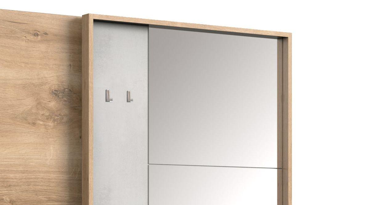 Schwebetüren-Kleiderschrank Pomona mit praktischem Kleiderhaken