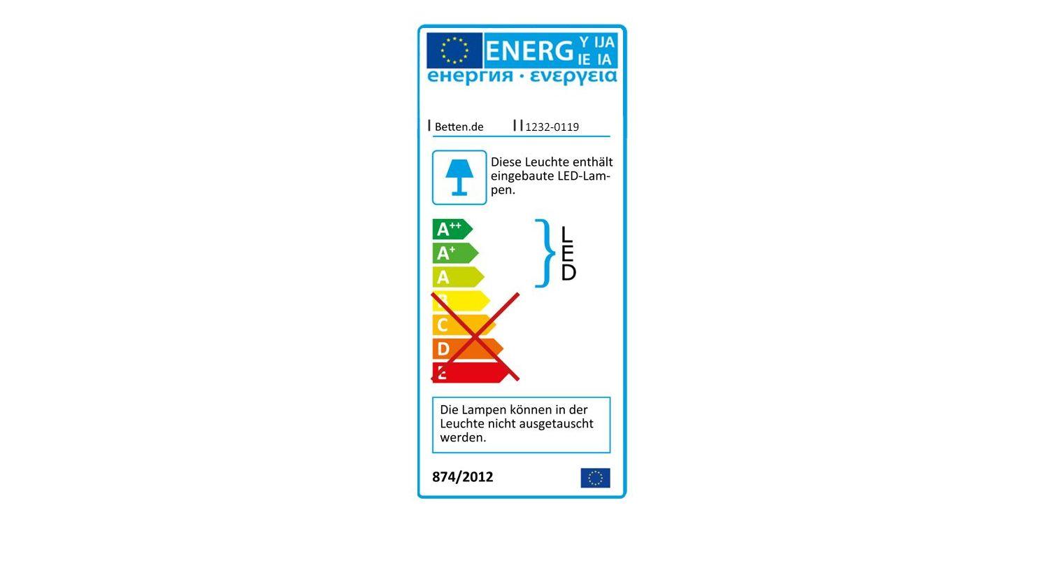 Schwebetüren-Kleiderschrank Seymours Energieverbrauchskennzeichnung