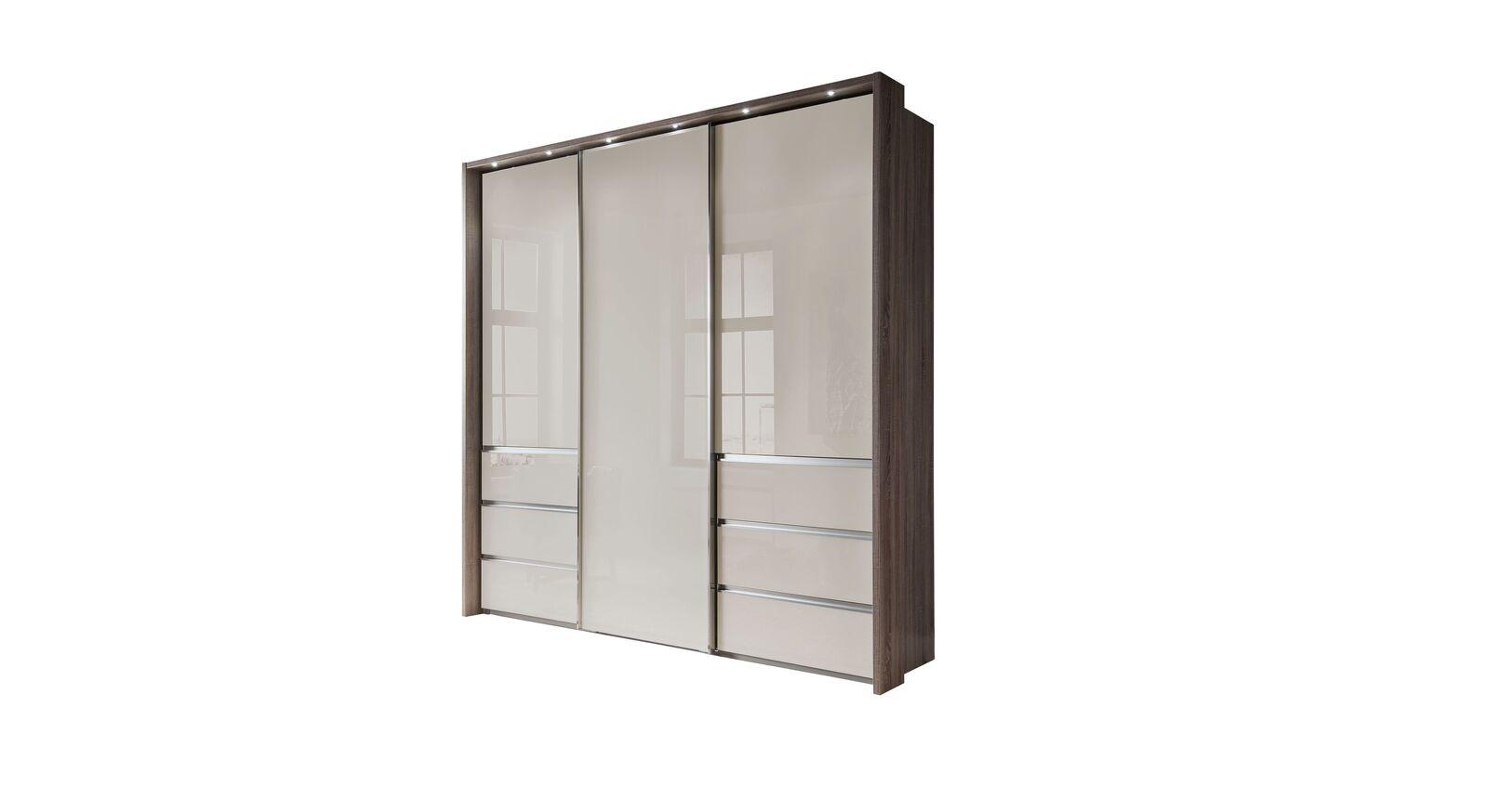 Moderner Schwebetüren-Kleiderschrank Tunica in 250 cm Breite