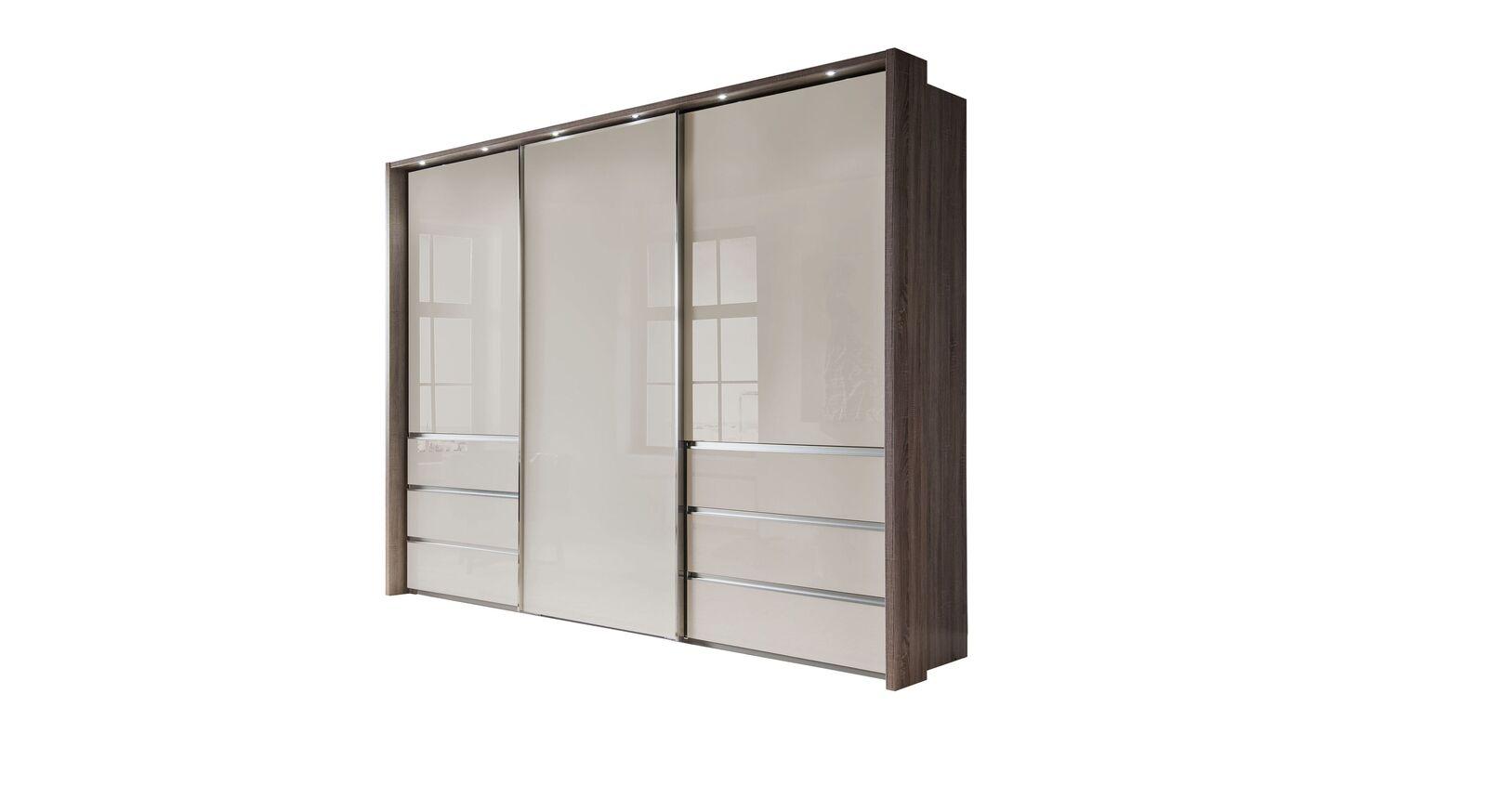 Moderner Schwebetüren-Kleiderschrank Tunica in 300 cm Breite