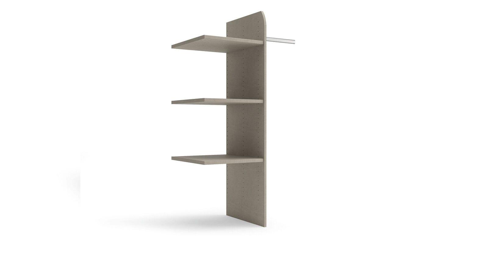 Schwebetüren-Schrank-Zubehör Eleisa - Einteilung mit Einlegeboden