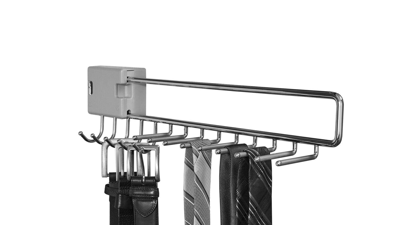 Schwebetüren-Schrank-Zubehör Eleisa - Krawatten und Gürtelhalter