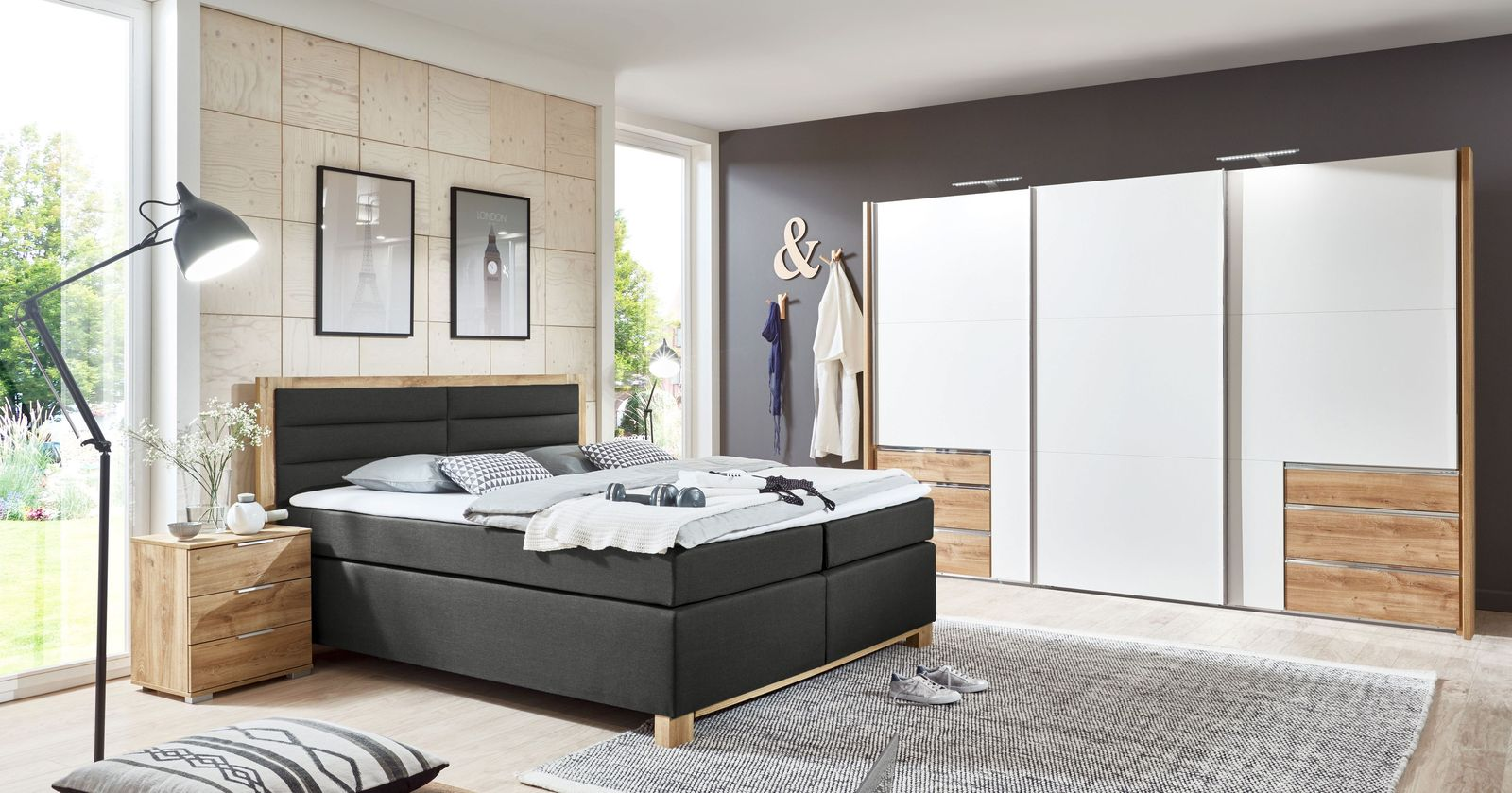 kleiderschrank kleiderschr nke online kaufen. Black Bedroom Furniture Sets. Home Design Ideas
