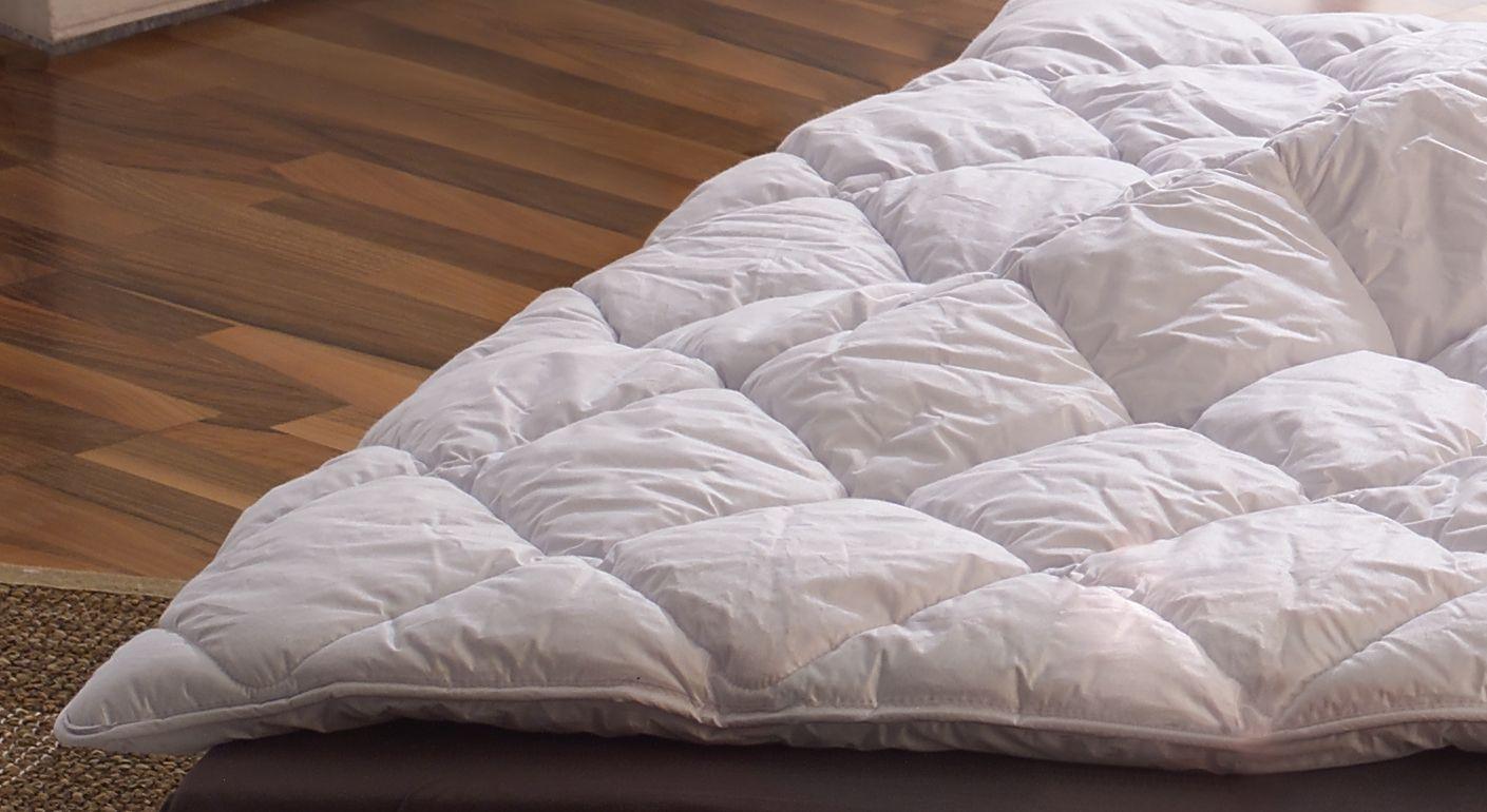 Ganzjahres Naturseidendecke Seiden Kombi Bettdecke Schönau