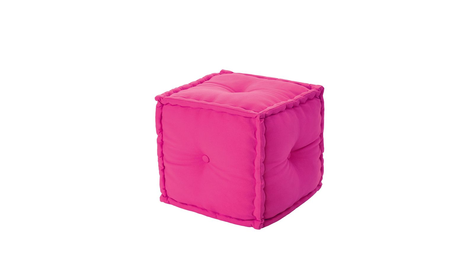 Sitzkissen-Sofa Kids Paradises pinkfarbener Sitzwürfel
