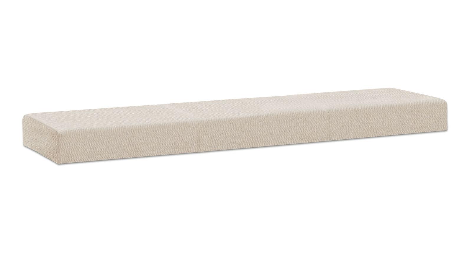Sitzkissen Weno aus robustem Fischgrät-Velours-Stoff