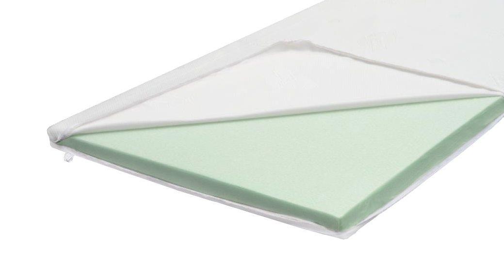 Softschaum-Topper 5 cm mit Jersey-Doppeltuch-Bezug
