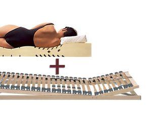 Lattenrost Und Matratze In Kombination Bei Bettende