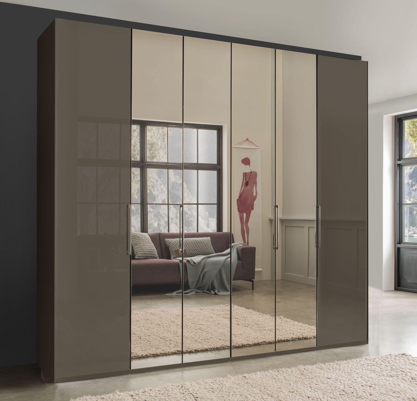 spiegel faltt ren kleiderschrank mit glas in havanna southville. Black Bedroom Furniture Sets. Home Design Ideas