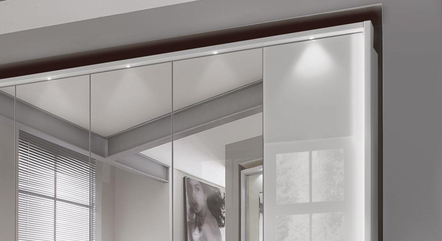 Spiegel-Funktions-Kleiderschrank Westville mit attraktiver Beleuchtung