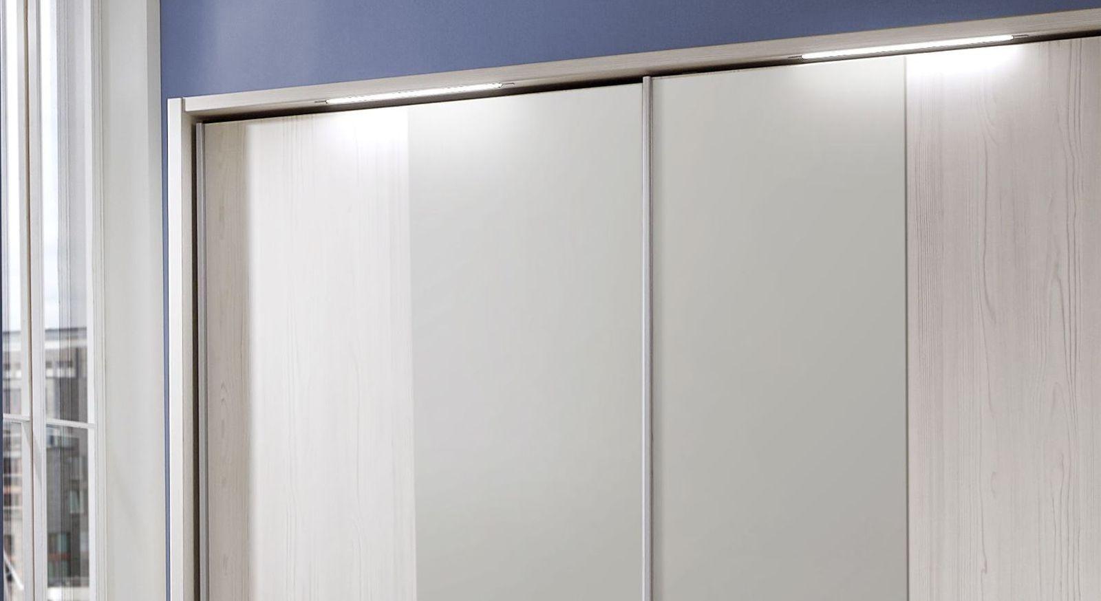 Spiegel-Kleiderschrank Apolda mit praktischer Beleuchtung