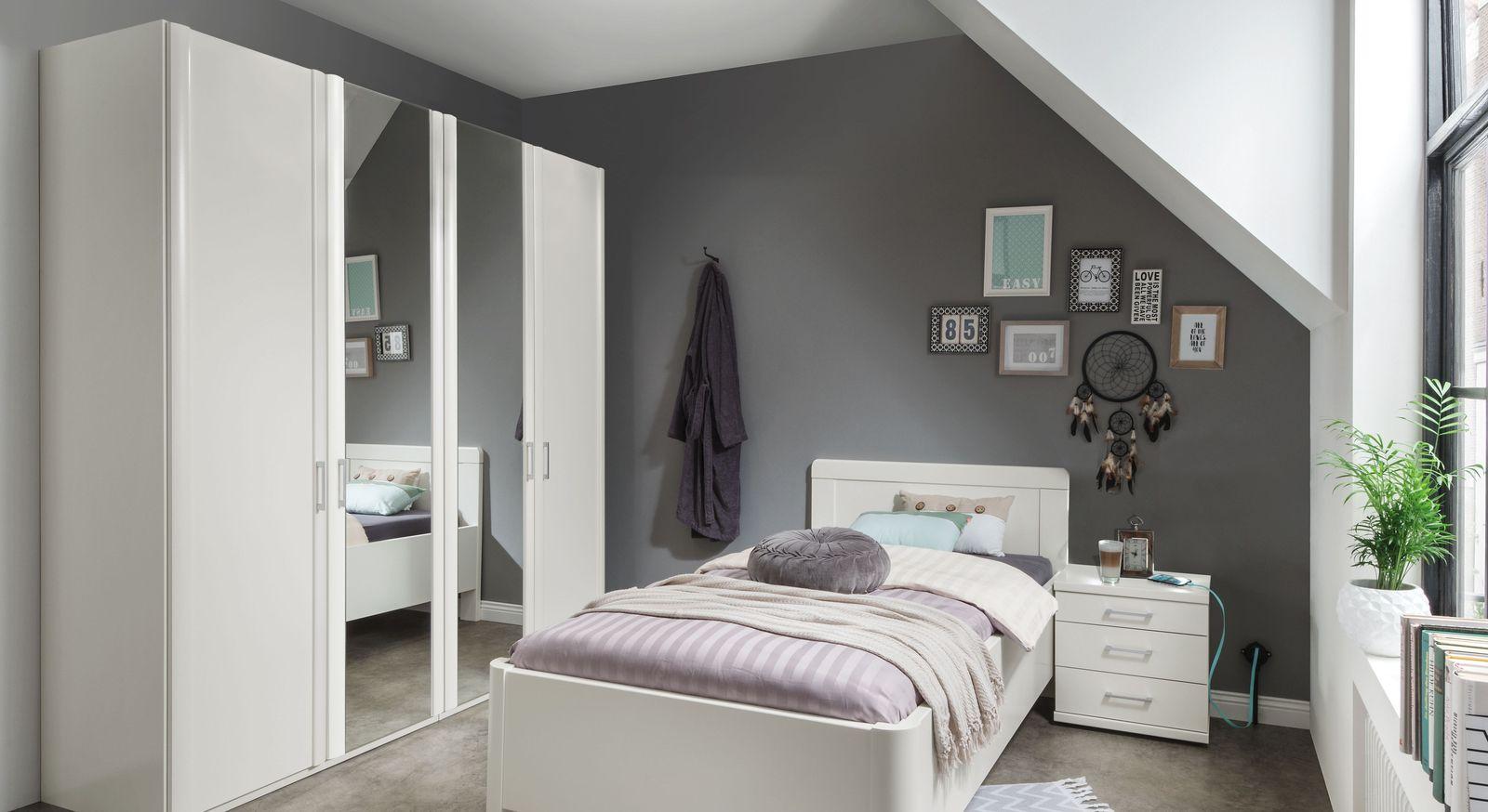 Spiegeltüren-Kleiderschrank Calimera in klassischem Design