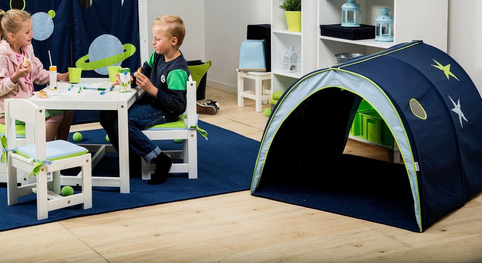 Vielseitige Nutzungsmöglichkeiten des Spieltunnels Kids Heaven