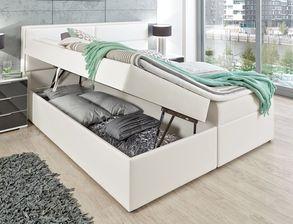 Stylisches komplett schlafzimmer mit stauraumbett sinopoli