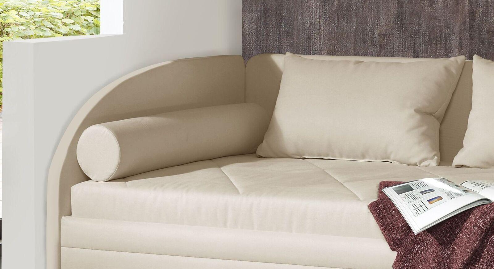 Studioliege Kamina Komfort mit praktischem Seitenteil