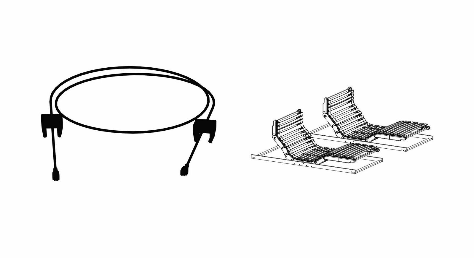 Synchro-Verbindung orthowell royalflex motor als Ergänzung zum Lattenrost
