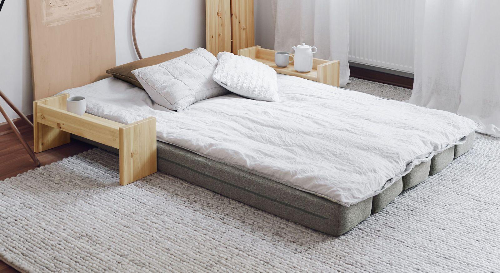 Tagesbett Capena mit bequemer Liegefläche