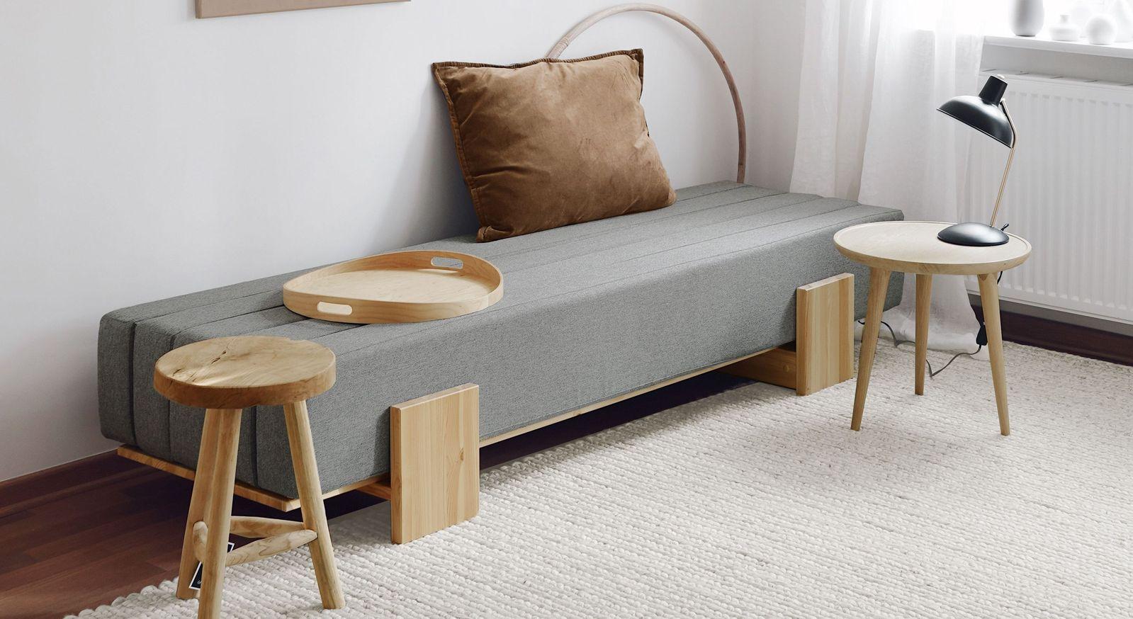 Tagesbett Capena als Sofa mit Schlaffunktion
