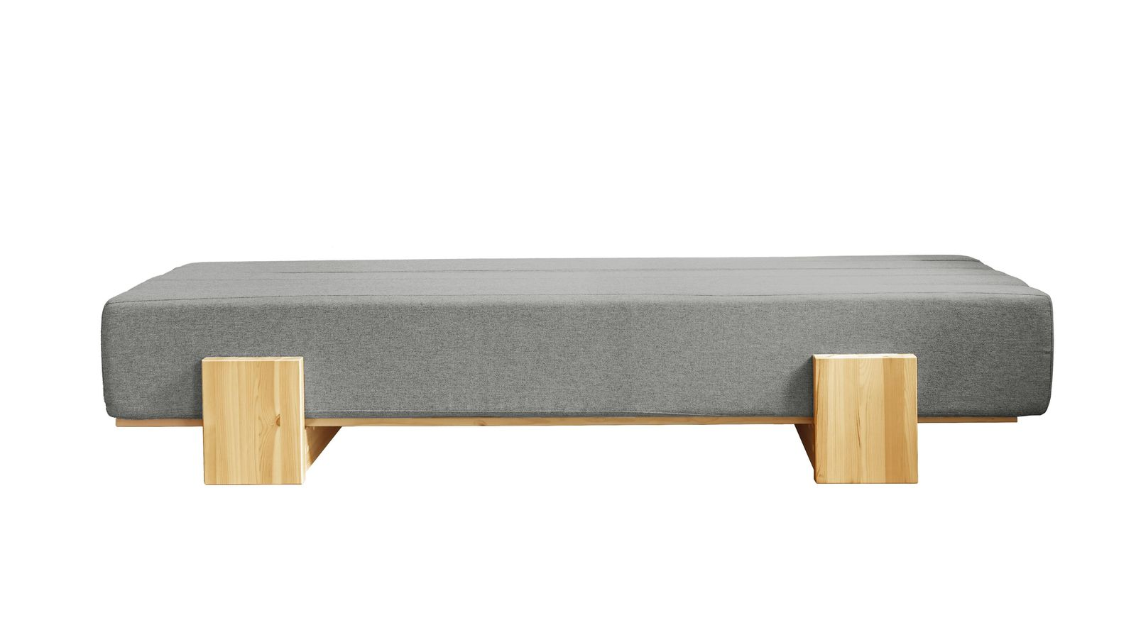 Tagesbett Capena aus granitfarbenem Webstoff