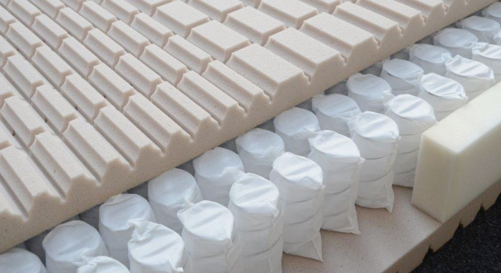 Taschenfederkern-Matratze orthowell 500 & 1000 Premium für optimale Körper-Stützung