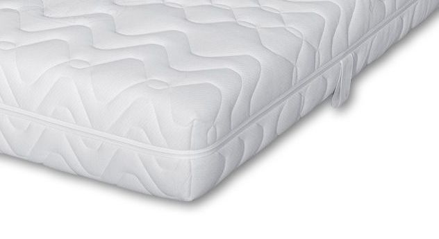 Taschenfederkern-Matratze Polar mit Wendeschlaufen und allergikerfreundlichem Bezug