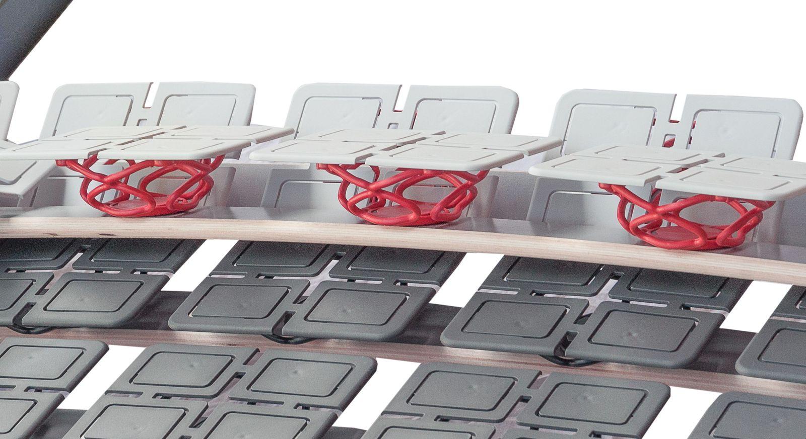Tellerlattenrost Platoflex mit flexiblen Modulen