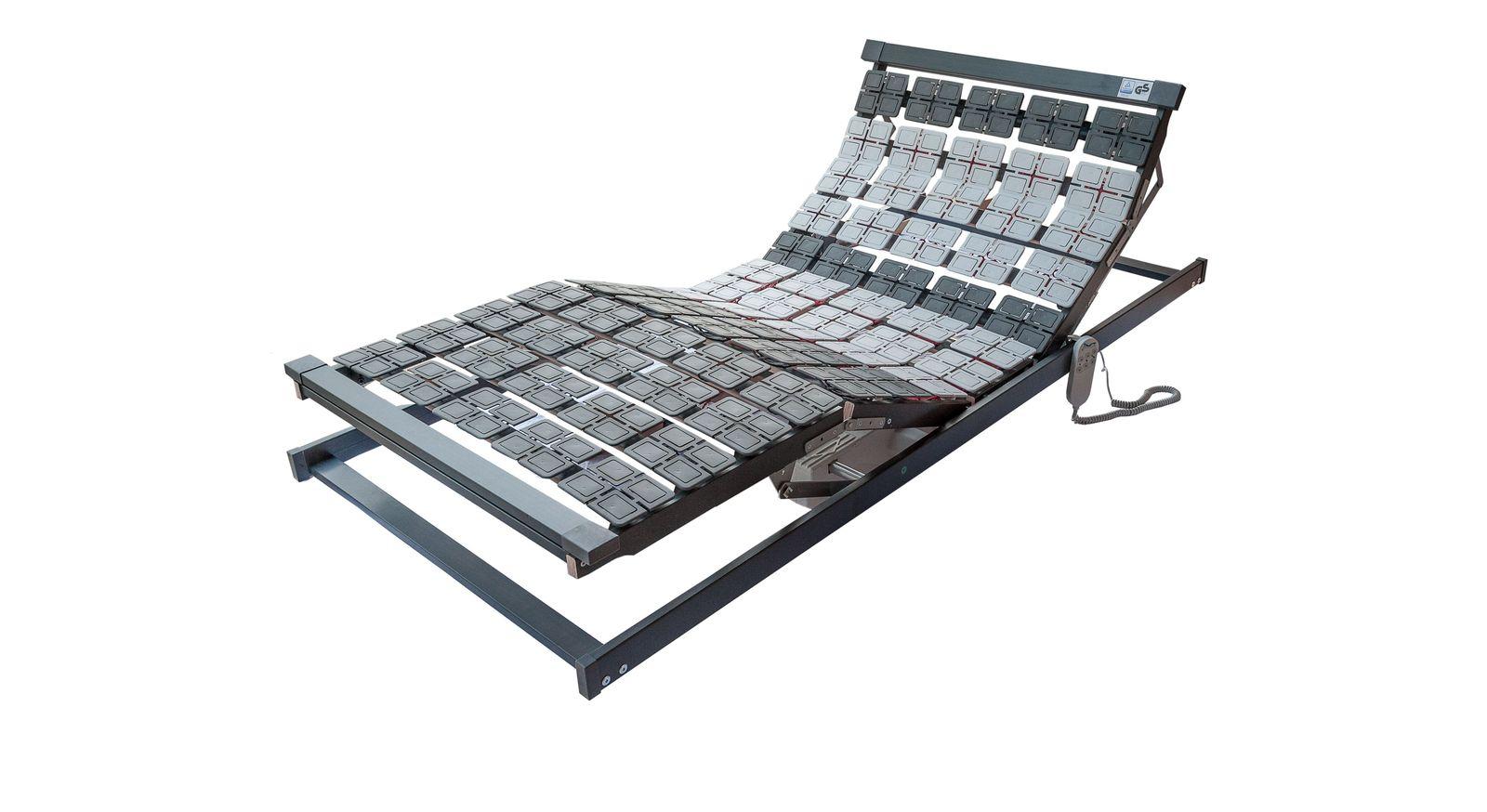 Komfortabler Tellerlattenrost Platoflex Motor zum Verstellen