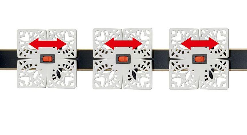 Tellerlattenrost youSleep mit individuell einstellbaren Tellermodulen