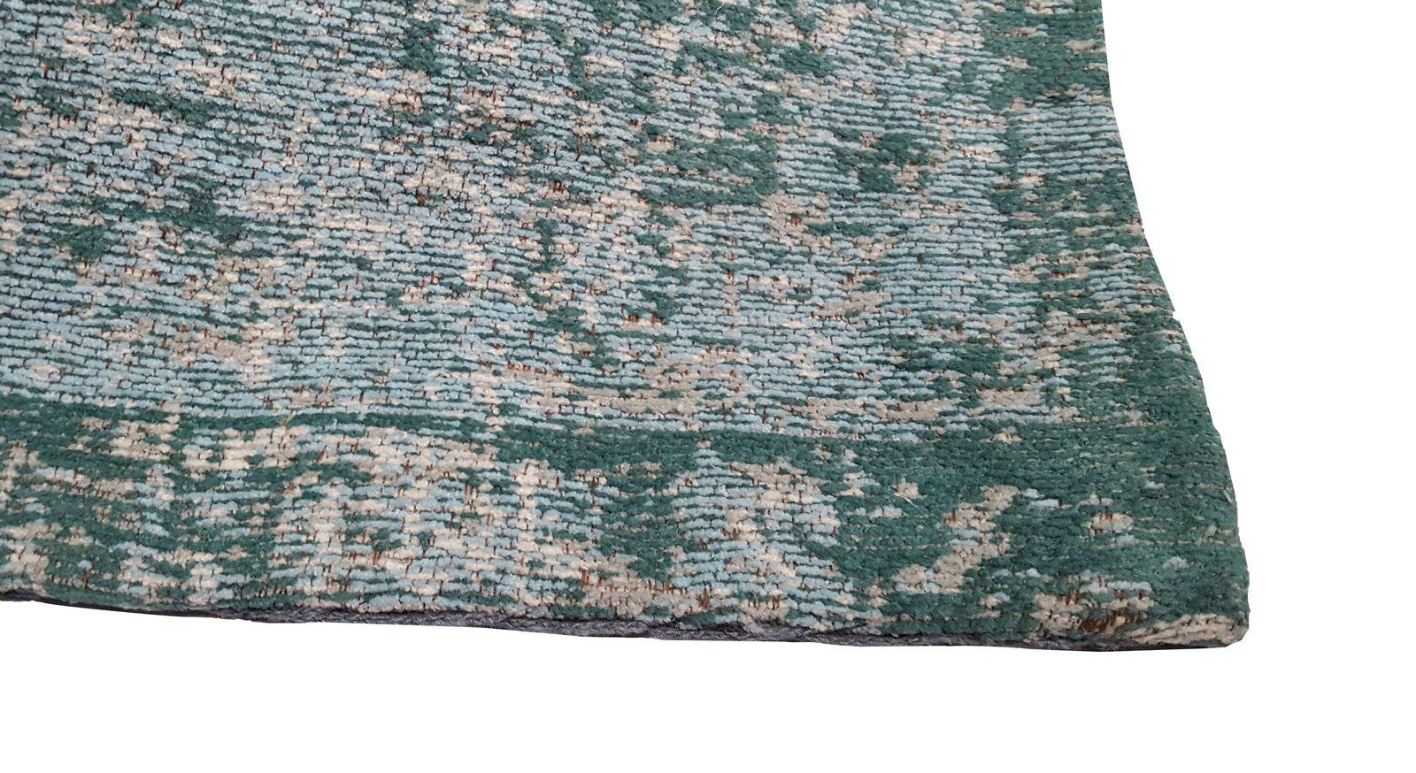 Hochwertiger Teppich Royal Türkis im Detail