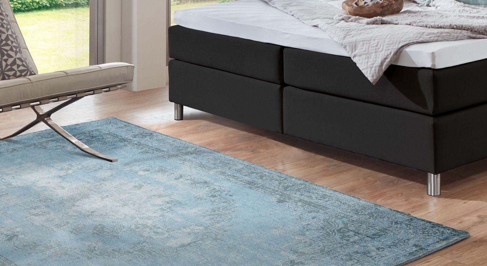 Teppich Royal türkis in Übergröße erhältlich