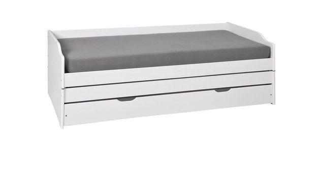 3-in-1 Funktionsbett mit Griffmulden zum Ausziehen