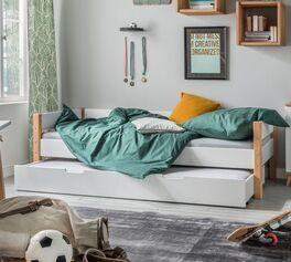 Ausziehbett Kids Nordic mit verstecktem Gästebett