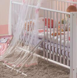 Babybett Embalas Gitter aus Massivholz
