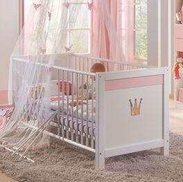 Babybett Embala aus robuster Spanplatte