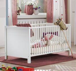 Babybett Lajana mit höhenverstellbarem Lattenrost