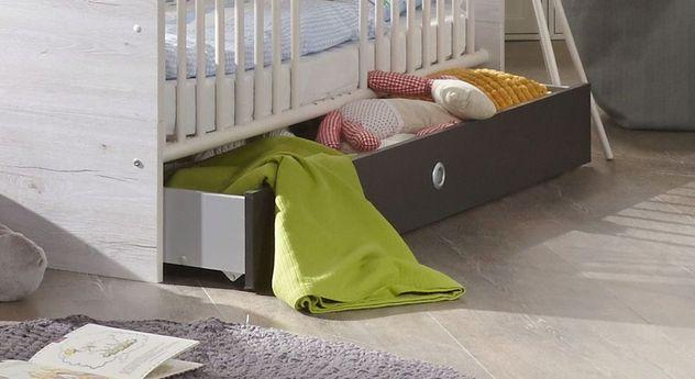 Babybett Mereto mit höhenverstellbarem Lattenrost