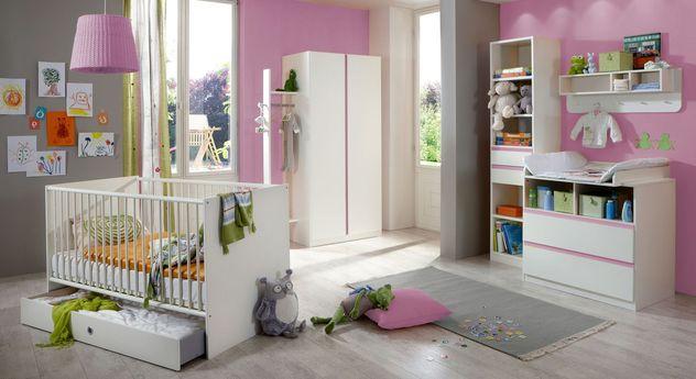 Babyzimmer Armilla mit Griffleiste in Kontrastfarbe
