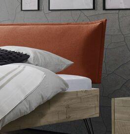 Modernes Bett Ancilla mit Polsterkopfteil
