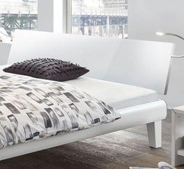 Bett Arona inklusive weißem Kopfteil