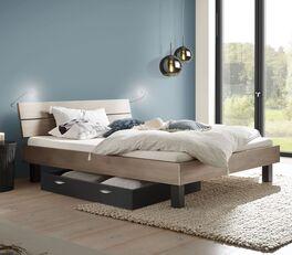 Preiswertes Bett Asuka in trendigem Design