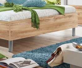Bett Bakios runde Bettfüße