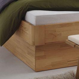 Bett Ballina mit komfortabler Rahmenhöhe